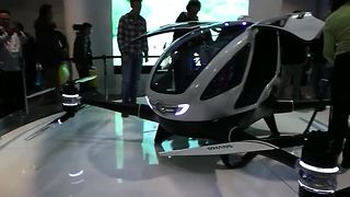 World's first passenger drone unveiled at CES - Video