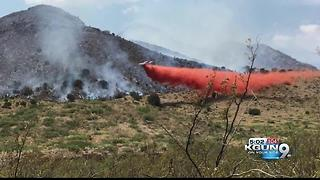 Flying R Fire burning near Patagonia grows to over 2,00 acres - Video