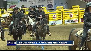 102nd Snake River Stampede bucks off Tuesday in Nampa - Video
