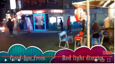 Red-light district in Japan - Love Hotels for couples to xoxoxoxo!