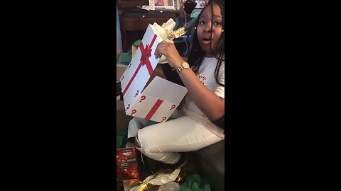 College Student Brought To Tears After Surprise Prank