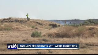 Antelope Fire grows to 10,000 acres - Video