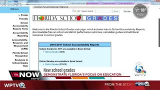 School grades released - Video