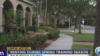Spring Training housing is a tough find - Video