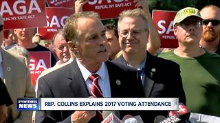 Collins defends 2017 voting record - Video