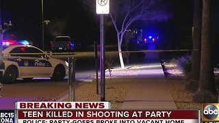 Party in Phoenix turns deadly - Video