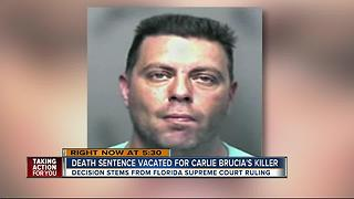 Death sentence for Carlie Brucia's killer is vacated, 11-year-old murdered in Sarasota in 2004 - Video