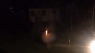 Backyard firework display doesn't go as planned - Video