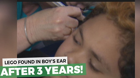 Teacher Noticed His Hearing Was Off. Nurse Takes One Look Inside And Yanks Out The Problem