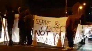 Protests in Bradford After Man Killed in Police Shooting - Video