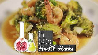 How to Health Hacks: Broccoli Prawn Curry - Video