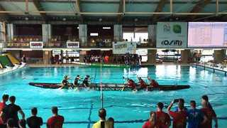 Ladies Battle it Out at the Polish Dragon Boat Championships - Video