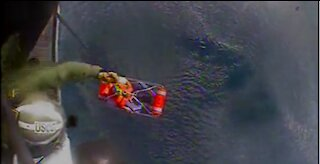 Coast Guard rescues 2 after boat sinks 40 miles west of Bradenton