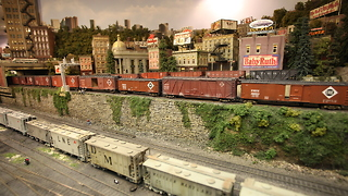 Tunnel Vision: Man Builds Million Dollar Model Railway - Video