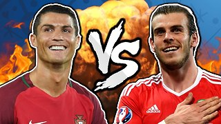 Cristiano Ronaldo vs Gareth Bale - The Ultimate Euro 2016 Battle? | Winners & Losers - Video
