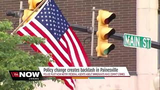 Community reacts to Painesville's controversial immigration policy - Video