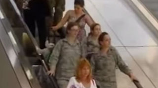 Three Veterans Return Home From Overseas, Now Pay Attention To The One On The Right - Video