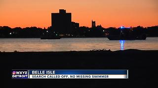 Coast Guard calls off search for reported missing swimmer near Belle IsleI - Video
