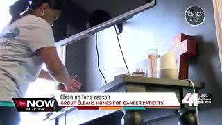 Cleaning For A Reason helps local cancer patients - Video