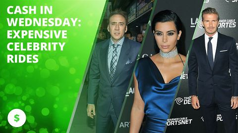 Cash in Wednesday: Expensive celebrity rides