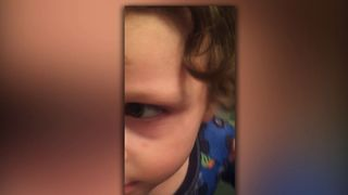 Boy Gets Upset Santa Ate His Cookies - Video