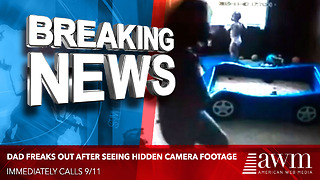 As Soon As He Hit Play On His Hidden Camera Footage, He Dialed 911 Immediately