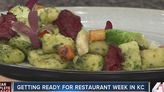 Restaurant week: vegetarian dishes - Video