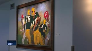 New Green Bay Packers art on display at Lambeau Field