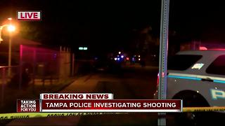 Tampa Police Investigate Shooting - Video