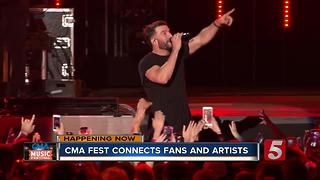 Big Names Perform For Day 2 Of CMA Fest - Video