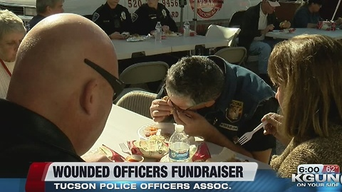 Money raised for wounded TPD officers