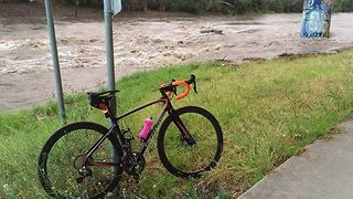 Sofa Carried Along by Melbourne Floodwaters - Video