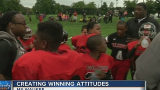 Neighborhood sports league helps motivate kids - Video