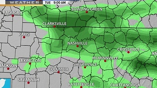 Lelan's Afternoon Forecast: Monday, December 12, 2016 - Video