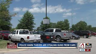 OP police say car burglaries up this year - Video