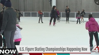 U.S. Figure Skating Championship continues in KC - Video