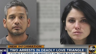 Two arrested after love triangle murder in north Phoenix - Video