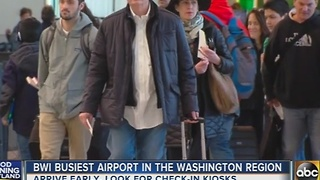 BWI is the busiest airport in the Washington region - Video