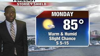 Warm & Humid Monday - Video