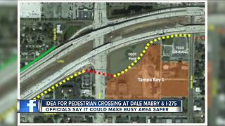 Dale Mabry could get pedestrian trail crossover near I-275 - Video