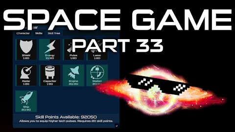 Space Game Part 33 - Character Window!