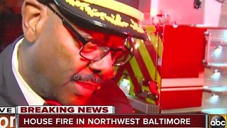 Man found dead after house fire in Baltimore - Video