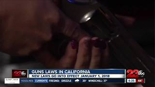 Gun laws in California - Video
