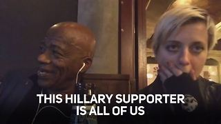 A Hillary supporter and Trump supporter walk into a bar - Video