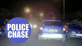 "Shocking police dash-cam footage captures motorist's ""nine minutes of madness"" - Video"