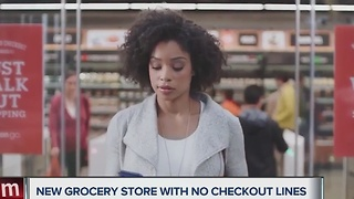 Amazon unveils grocery store with no checkout lines - Video