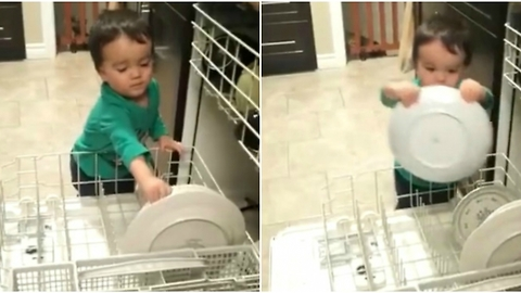 This Toddler Is Already More Helpful in the Kitchen Than Most Millennials