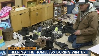 Local homeless shelters stretched in cold weather - Video