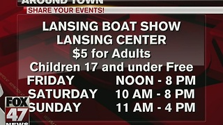 Around Town 11/13/16: Lansing Boat Show - Video