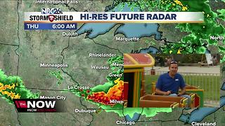 Cameron's Weather Roadshow at Fond du Lac County Fair - Video
